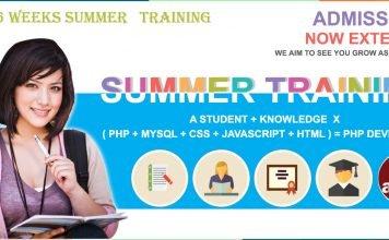 Summer training in Jammu Kashmir